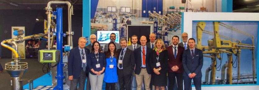 The Loadtec, Zipfluid and Carbis teams at StocExpo 2016