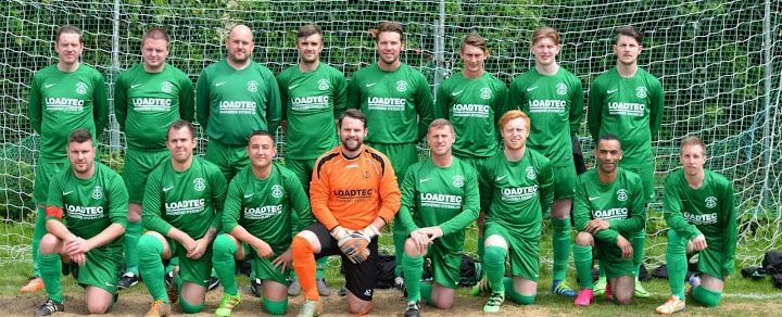 Medway Rovers FC Football Team wearing Loadtec Kits