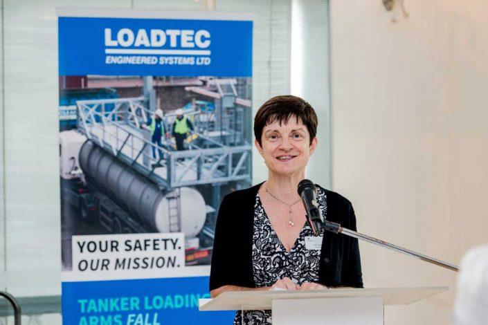 UKTI Singapore director Judi Leon introduces Loadtec