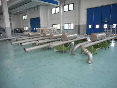 Loadtec Zip-Load Floating Suctions in Factory