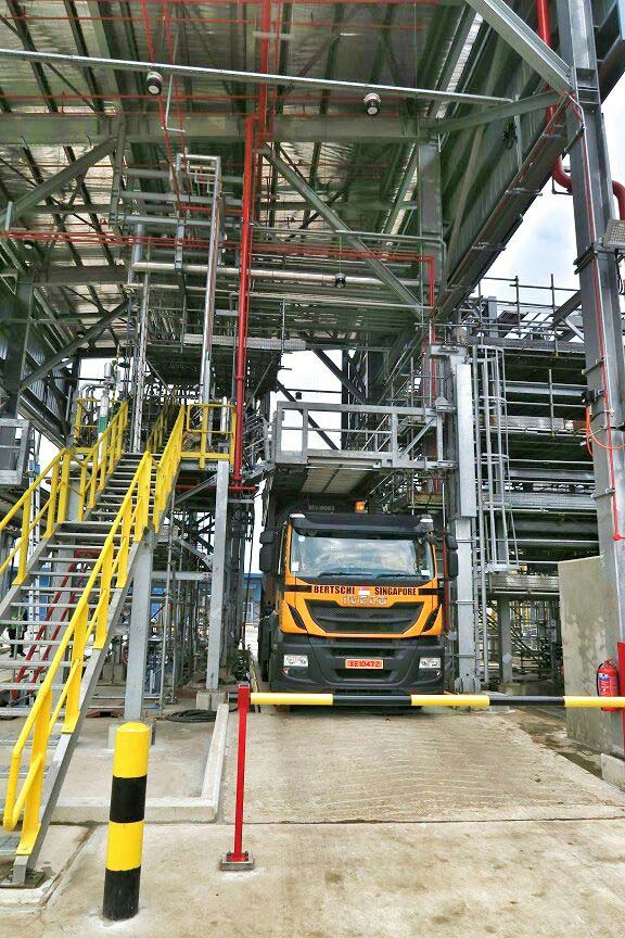 Carbis Loadtec Non-Tilting Multi-Modal in Working Position - Singapore