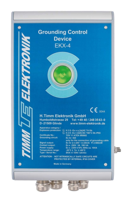 Loadtec Electronic Tanker Earthing & Grounding Control Device