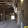 Carbis Loadtec Folding Stair For Cement And Rail Industry