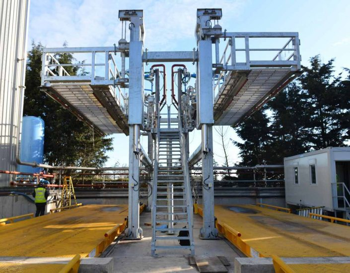 Loadtec Back-to-Back TCEN4 Tanker Access System with Top Loading Arms - Norfolk, UK