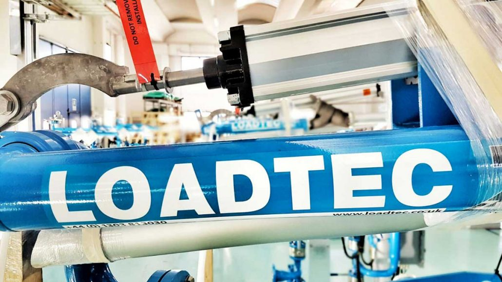Carbis Loadtec Factory Visit - Close-up of Loading Arm