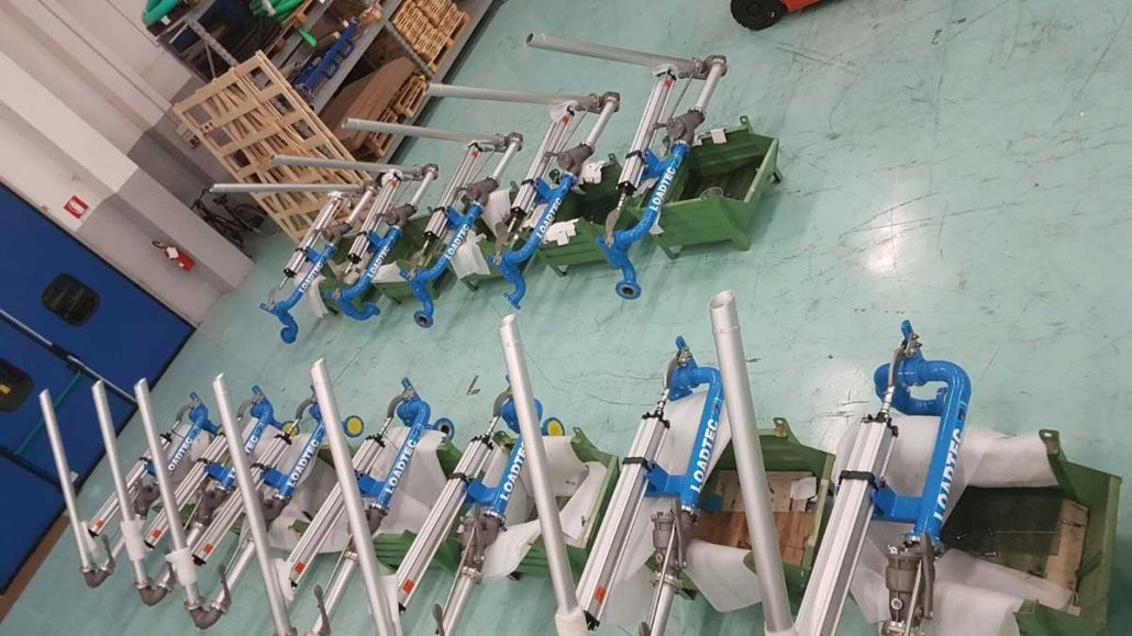 Carbis Loadtec Factory Visit - Loading Arms Being Assembled