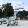 Loadtec Carbis Mobile Access Cart in action