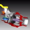Animation showing Loadtec Drylok Dry-Disconnect Couplings in action