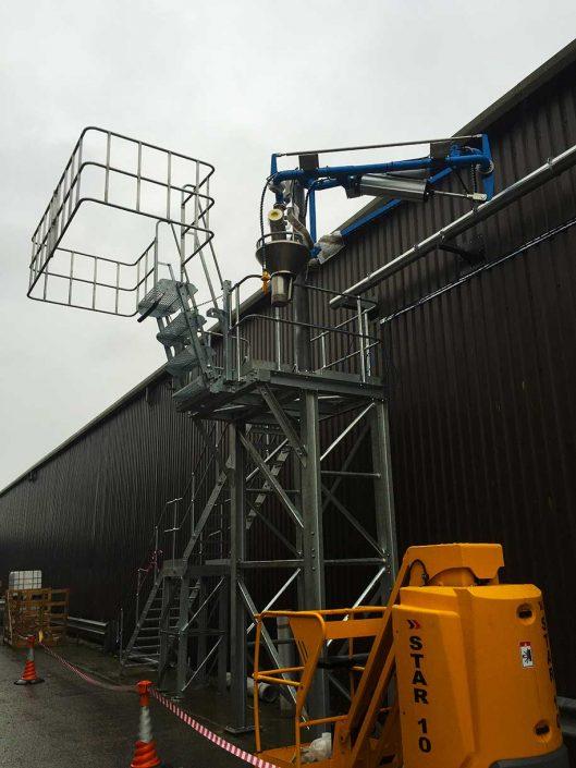 Loadtec Special Loading Arm - Albis Plastics, Knutsford, UK