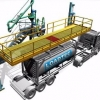 Animation showing Loadtec TCEN4 Tanker Enclosure System in action
