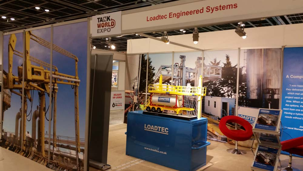 Carbis Loadtec Stand at Tank World Expo 2016 in Dubai