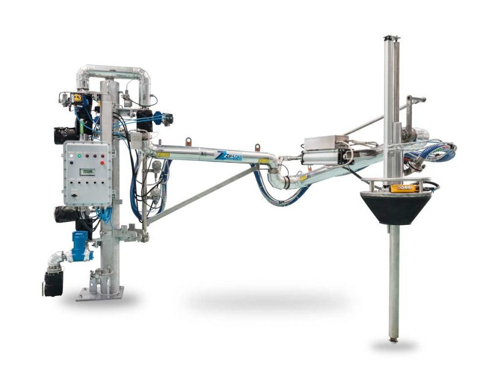 Carbis Loadtec Integrated Meter Skid Atex Control System & Telescopic Top Loading Arm