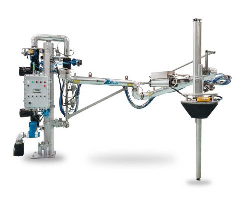 Loadtec Zip-Load Integrated Meter Skid Atex Control System & Telescopic Top Loading Arm