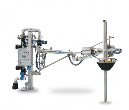 Carbis Loadtec Top Loading Arm with Vapour Recovery for Pharmaceutical Use