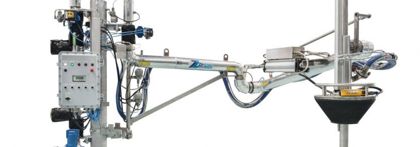 Loadtec Zip-Load Top Loading Arm with Vapour Recovery for Pharmaceutical Use