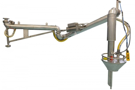 Zip-Load / Loadtec LA-130V Insulated Heated Loading Arm with Vapour Recovery