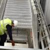 Carbis Loadtec Vertically Elevating Platform - Safe Access to manhole