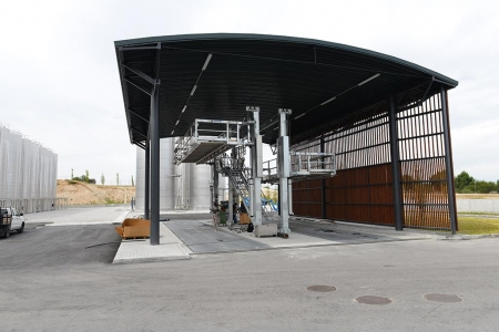 Loadtec Dual Sided Tanker Enclosure System TCEN4
