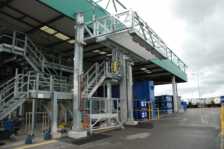 Loadtec Multi Modal Systems - Fall Prevention Systems - Tanker Access - Installed in Drusenheim, France