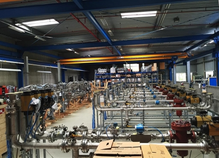 Loadtec LPG Meter Skid Solutions in Factory