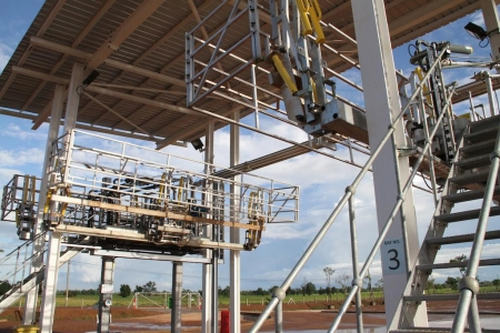 Loadtec Large Cage Safety Solution - Installed in Thailand