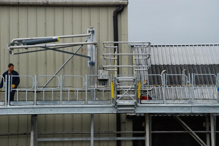 Loadtec Track Mounted Gangways