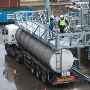 Loadtec Multi Modal Systems - Fall Prevention Systems - Tanker Access - Newport, South Wales