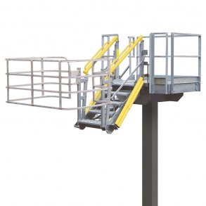 Loadtec Standard Folding Stairs