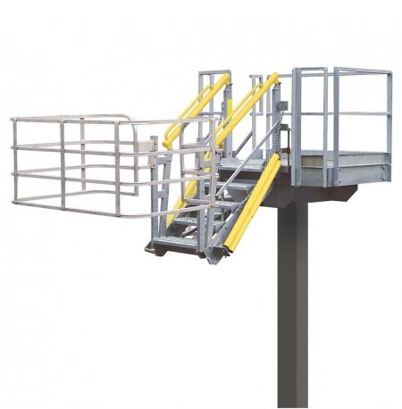 Loadtec Standard Folding Stairs