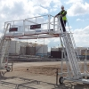 Carbis Loadtec TC-10 Mobile Access Cart - Two Side by Side