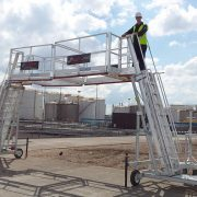 Loadtec TC-10 Mobile Access Cart - Two Side by Side