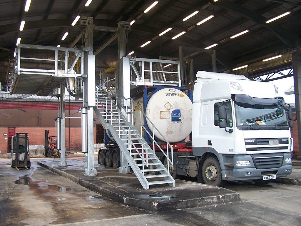 Carbis Loadtec Dual Side Tanker Enclosure