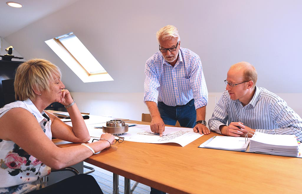 Loadtec consultancy meeting in office
