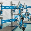 Carbis Loadtec LPG Arms - Front on View in Factory