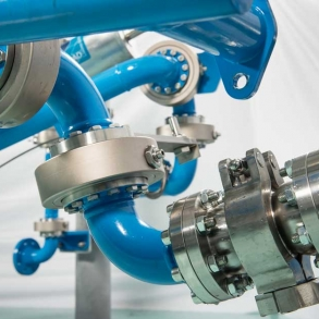 Loadtec Zip-Load LPG Arms - Close up in Factory