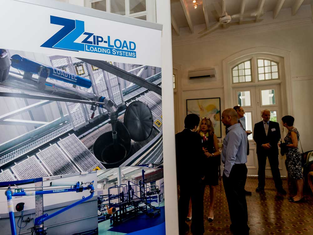 Loadtec hosted its first networking luncheon in Singapore together with UK Trade and Investment (UKTI), in Eden Hall, the official residence of the British High Commissioner