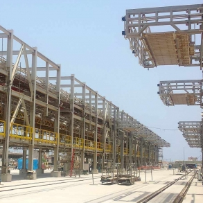 Loadtec Zip-Load Rail Wagon Tank Access System in the Middle East