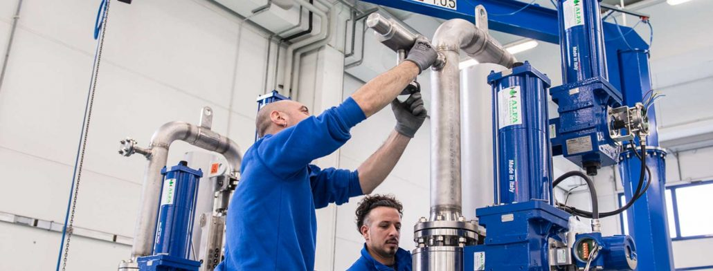 Zip-Load Staff Working in Factory