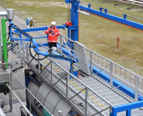 Loadtec Safety Solution for Tanker Access - The Multi-Modal