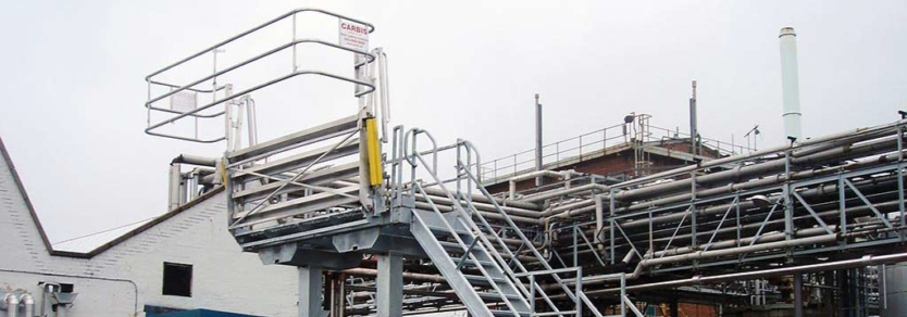 Folding Stairs Long Gangway