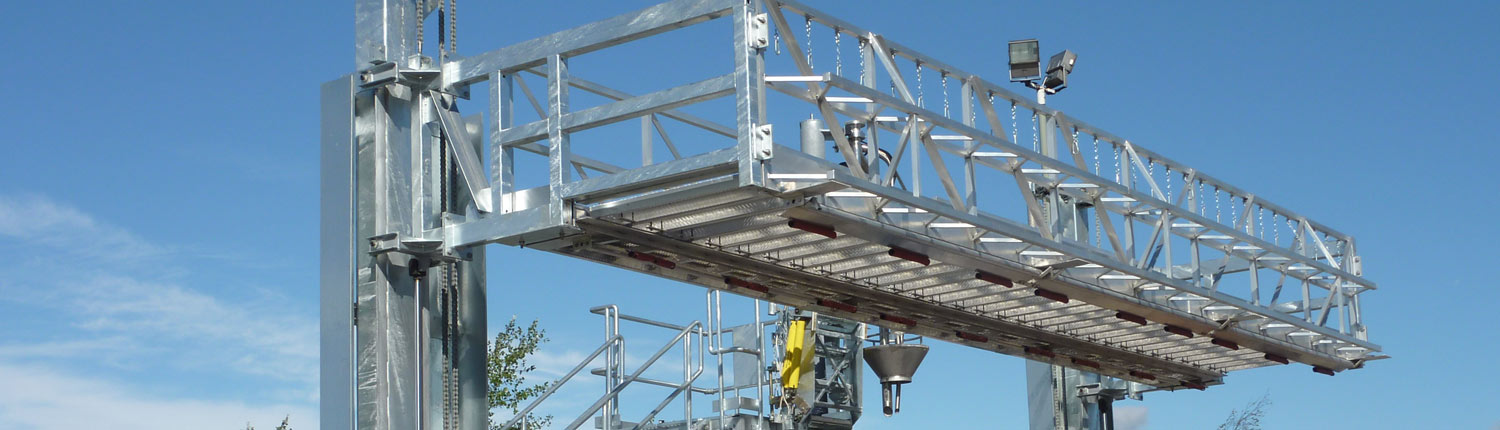 Carbis Loadtec Vertically Elevating Platforms
